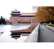 Beijing - 故宫 - Forbidden City. Photographic Print