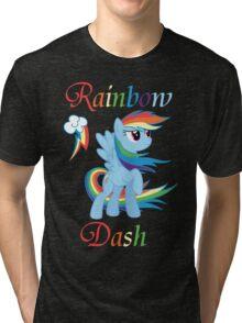 Rainbow Dash T-Shirt Tri-blend T-Shirt