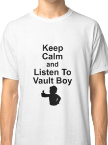 Listen to Vault Boy Classic T-Shirt