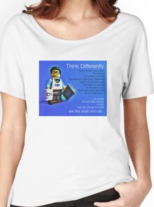 Think differently...... Women's Relaxed Fit T-Shirt