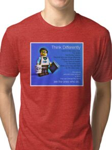 Think differently...... Tri-blend T-Shirt