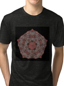 PSYCHEDELIC ROSE Tri-blend T-Shirt