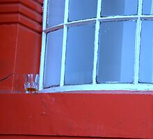 Glasgow - Forgotten glass. by Jean-Luc Rollier