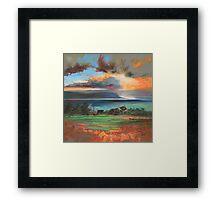 Uig Sky Framed Print