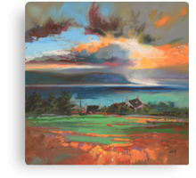 Uig Sky Canvas Print