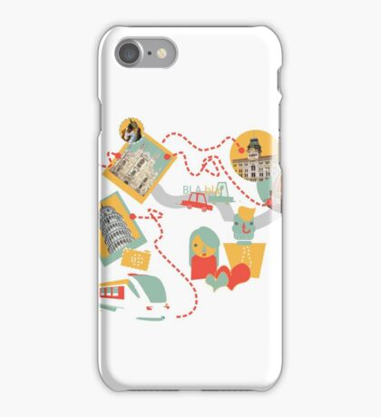 Travel with LOVE (italy) iPhone Case/Skin