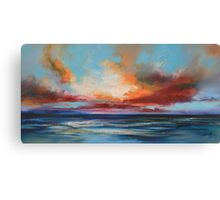 Ocean Blue Canvas Print