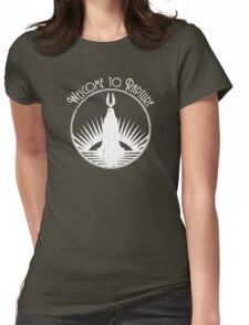 Bioshock Welcome To Rapture Womens Fitted T-Shirt