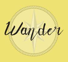 Wander - compass Kids Tee