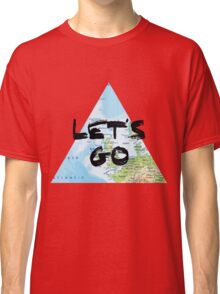 Let's Go! Triangular Europe Map Classic T-Shirt