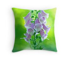 The Heart's Hive Throw Pillow