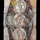 Chakras Energy in Art: by M. Shiber by Mona Shiber
