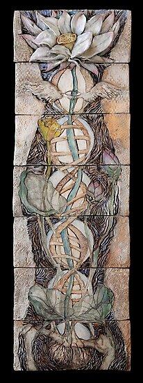 Lotus IV: science & spirit by Mona Shiber