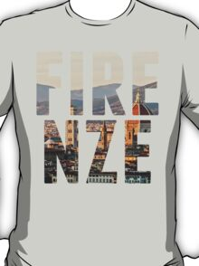 Firenze typography T-Shirt