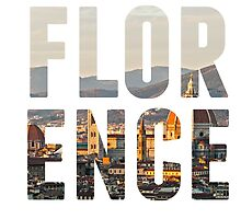 Florence typography by ourtinyinfinite