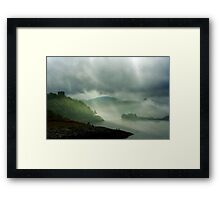 ...when soft voices die, Framed Print
