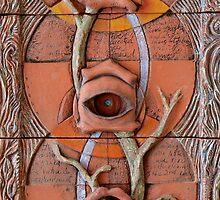 Sense Doors (detail of Lotus VII) by Mona Shiber