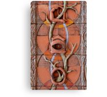Sense Doors (detail of Lotus VII) Canvas Print