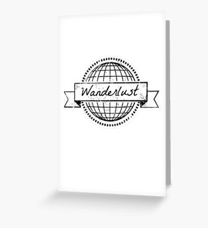 wanderlust postcard Greeting Card