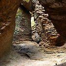 Rock Chamber ~ Echo Canyon, Chiricahua National Monument, Chiricahua Mountains, Arizona, USA by Vicki Pelham