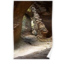 Rock Chamber ~ Echo Canyon, Chiricahua National Monument, Chiricahua Mountains, Arizona, USA Poster