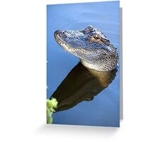 Allie the Alligator Greeting Card