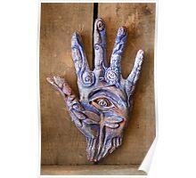 Hand Eye Poster