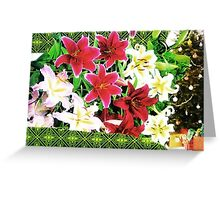 Holiday Fucsia Greeting Card