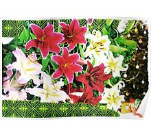 Holiday Fucsia Poster