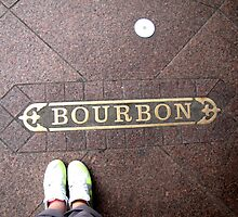 Bourbon Street and Nikes by Dylan Mierzwinski