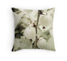 Gooseberries Throw Pillow