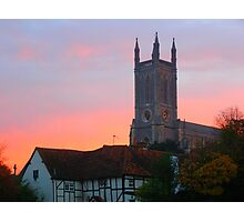 SUNRISE OVER ANDOVER Photographic Print