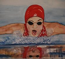 The swimmer by Josephine Mulholland