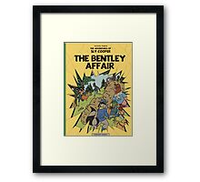The Bentley Affair Framed Print