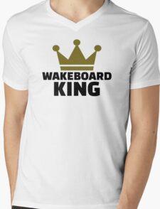 Wakeboard King Mens V-Neck T-Shirt