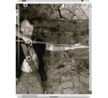 Infinity and the sword iPad Case/Skin