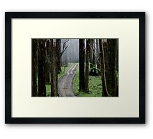 Bicentennial National Trail - Healesville end (Victoria) Framed Print