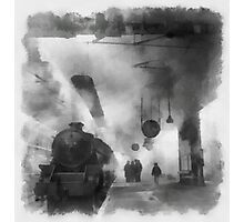 British Railways during WWII by John Spirngfield Photographic Print