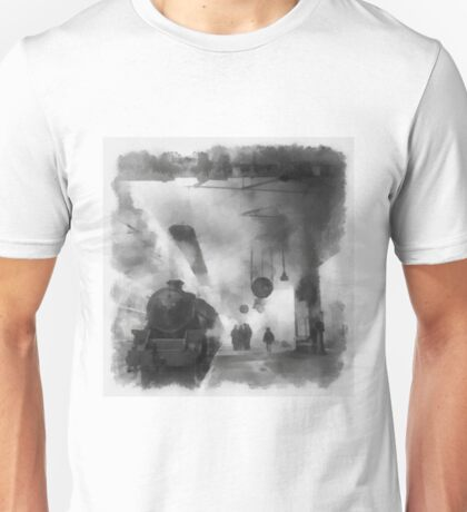 British Railways during WWII by John Spirngfield Unisex T-Shirt
