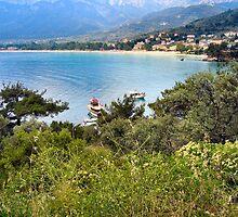 GOLDEN BEACH.THASSOS.GREECE. by ronsaunders47