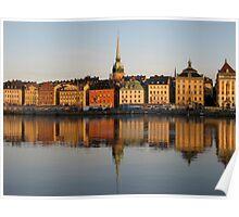 Stockholm Morning Poster