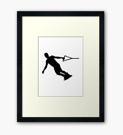 Wakeboarding Framed Print