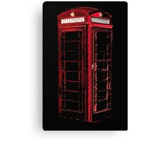 Phone box Canvas Print