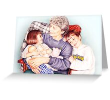 A day with Gramma Greeting Card