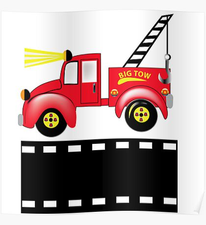Benji the Tow Truck Poster