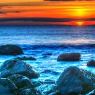 Sunset  Clachtoll by Alexander Mcrobbie-Munro