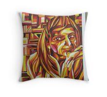 Cubistic Throw Pillow