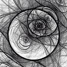 Grayscale  by Sandra Bauser Digital Art