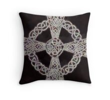 Celtic Cross by Pierre Blanchard Throw Pillow
