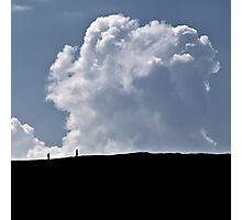 Make Clouds Friends Photographic Print
